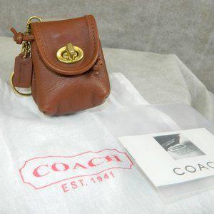Coach Vintage 'Mini Daypack Key Fob' #7253 NEW!